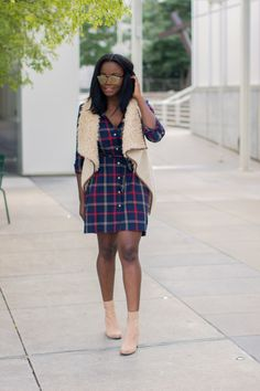 Plaid + Shearling | Millennielle