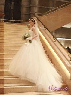 大人可愛い3スタイルチェンジ♡素敵なご結婚式 の画像|大人可愛いブライダルヘアメイク『tiamo』の結婚カタログ