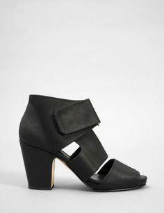 comrad open toe sandal bootie