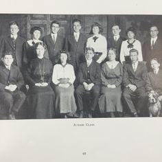 Buchtel Academy Juniors Class of 1919-The TEL-BUCH Yearbook 1914