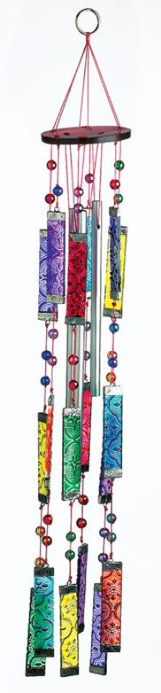 Tapestry Glass Sun Catcher Wind Chime     http://www.pyramidcollection.com/itemdy00.aspx?ID=51,624=P23748#