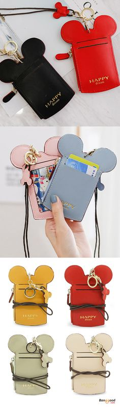 US$11.99 + Free shipping. Cute Animal Shape Card Holder Wallet Purse Neck Bag for Women. Women's bags wallet, bags and purses, Mickey bags, Mickey wallets purses, kid's bags, kid's purses, kid's wallets. 7 Colors to Match Your Style.Find more!#bagsandpurses #women