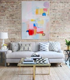 Abstract Painting , Original Giclee Print , Abstract Art Print , Modern Art , Minimalist Art , Pink Blue Red Abstract von Artzaro auf Etsy https://www.etsy.com/de/listing/215338897/abstract-painting-original-giclee-print