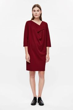 COS   Dress with folded neckline 69 euro