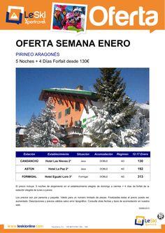 Formigal 12-17 Enero 5Noches +4 días Forfait desde 130 € ultimo minuto - http://zocotours.com/formigal-12-17-enero-5noches-4-dias-forfait-desde-130-e-ultimo-minuto/