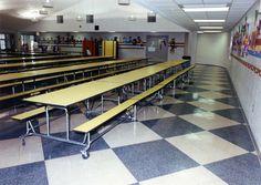 #Fritztile #Terrazzo #Tile #Flooring #school #schoolfloor #cafeteria