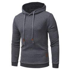 Winwinus Mens Zipper Autumn Spell Color Hip-hop Fake Two Hoodie Sweatshirt