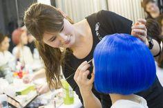 【バンタンデザイン研究所】ヘアメイクインターン☆ロイスクレヨン2013S/Sファッションショー!!