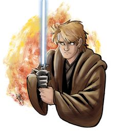 Star Wars - Anakin Sketch by Renny08 on @DeviantArt