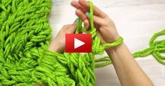 Ladies you are here for a treat! Super fast and easy way of knitting a yarn scarf on your own hands. With this technique, you'll be able to create a yarn scarf in less than 30 minutes. Now that Win...