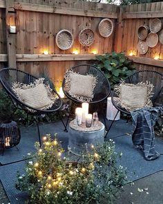 Discover even more . - Garten im Boho-Stil - Bohemian Patio, Bohemian Interior, Bohemian Garden Ideas, Bohemian Style, Diy Patio, Patio Ideas, Outdoor Living, Outdoor Decor, Home Decor Furniture
