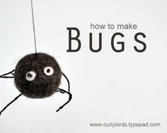Halloween is coming - here is a spider tute from Curly Birds