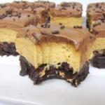 Peanut Butter Fudge Brownie Bricks