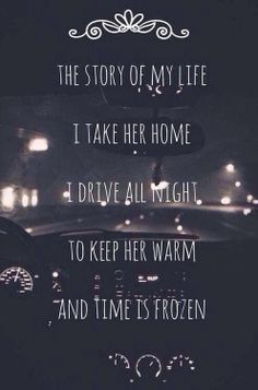 One Direction - Story of My Life. I'm not the biggest One Direction fan, but I am completely in love with this song ❤ One Direction Lyrics, Direction Quotes, One Direction Pictures, Song Lyric Quotes, Music Lyrics, Music Quotes, Life Lyrics, 1d Quotes, Night Quotes