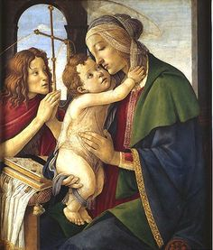 Sandro Botticelli - Madonna with child