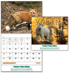 Norwood Promotional Products :: Product :: Wildlife Portraits - Spiral. Custom Imprinted Calendars  - For custom imprinted calendars visit www.SpecialtyWarehouse.com for calendars & great promotional items. Call Toni @ 1-800-828-6020 for pricing details or sample requests.