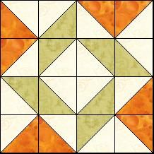 Block of the Day for January 18, 2014: Balkan Puzzle ~ a fun block.  I can see flowers forming too.