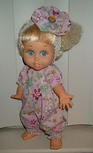 ROMPER FUN ~ for Baby Face by Galoob ~ by SuzyB ~ doll romper set.