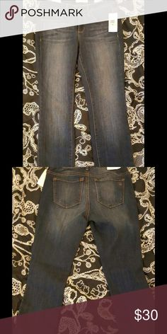 Jessica Simpson Jeans ☀️Sale☀️FGWP These adorable jeans are the perfect blend of cotton, viscose , polyester, and elastane. JS cropped skinny jeans will fit seamlessly into any fashionista's wardrobe. Free colorful JS thong underwear in size s,m, or l.  After purchasing please leave the size and color you prefer. All free gifts with purchase are subject to availability. Jessica Simpson Jeans Skinny