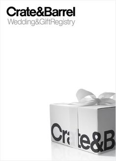 Crate & Barrel Gift Registry