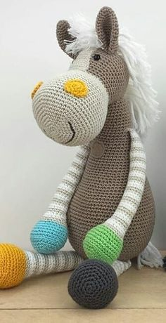 amigurumi animals 44 Awesome Crochet Amigurumi Patterns For You Kids for 2019 Part amigurumi for beginners; amigurumi for kids; amigurumi animals de la granja 44 Awesome Crochet Amigurumi Patterns For You Kids for 2019 Part 22 Crochet Horse, Crochet Bunny Pattern, Crochet Rabbit, Crochet Animal Patterns, Stuffed Animal Patterns, Cute Crochet, Crochet Animals, Plaid Crochet, Crochet Patterns Amigurumi