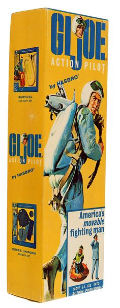 GI Joe Action Pilot (box art) by Hasbro