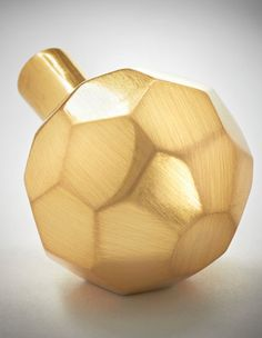 Brass honeycomb knob form new line of hardware by Jessica Ahnert Davis of Nest Studio! Decorative Accessories, Home Accessories, I Love Lamp, Golden Glitter, Bottle Design, Butler Pantry, Handmade Home Decor, Gold Fashion, Decoration
