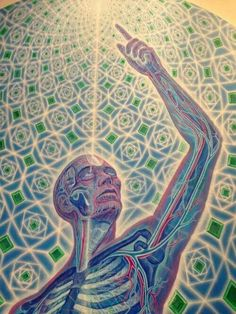 Alex grey / ravenectar / Sacred Geometry <3