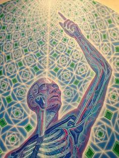 Alex grey / ravenectar / Sacred Geometry <3