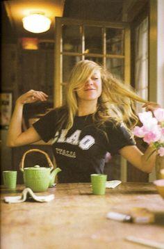 tea with CHLOE SEVIGNY