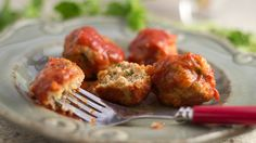 This delicious recipe for chicken meatballs is sure to become one of your kids' favorites.