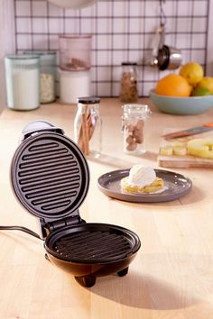 I can't believe this is only $18!! This mini grill is literally all you need for your boo + you's next cook out - no need for all that messy propane. In a sleek, poished design that looks cute on your counter and perfectly cook single serving burgers, add depth of flavor to fruit and veggies, panini-press sandwiches + so much more. Plugs in, heats up quick + wipes clean for easy clean-up. Comes with a recipe guide so the opportunities are endless! #affiliatelink