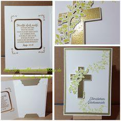 StampinUp, Geburtstagskarte für ein Pfarrer mit dem Produktpaket Hoffe und glaube...