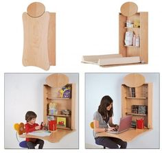 Cambiador plegable de pared Pratiko