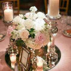 A Carnegie Museum Wedding in Pittsburgh, Pennsylvania – Wedding Centerpieces Sweet 16 Party Decorations, Sweet 16 Centerpieces, Romantic Wedding Centerpieces, Crystal Centerpieces, Birthday Centerpieces, Flower Centerpieces, Romantic Weddings, Wedding Decorations, Centrepieces