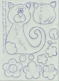 Fofuchas Eva e Cia: Capa de Caderno