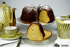 Bundt cake recipe. Bundt cake with quark cheese.