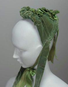 bonnet 1870s