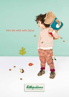 Into the wild with César... | Lilliputiens