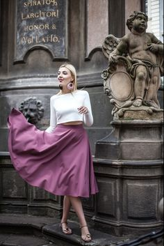 Everyday Fashion, Flannel, Midi Skirt, Blouses, Photo And Video, Stylish, Skirts, Photography, Vintage
