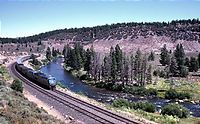 California Zephyr, Along Truckee River