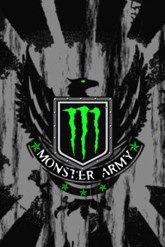 Monster Apple Iphone Wallpaper Hd, Black Phone Wallpaper, Anime Wallpaper Live, Cellphone Wallpaper, Monster Energy Gear, Monster Energy Drink Logo, Fox Racing Logo, Motocross Love, Legendary Monsters