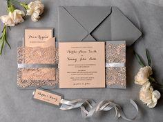 WEDDING INVITATIONS 26/laceWw/z