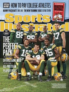 The Perfect Pack - Aaron Rodgers and the Packers receivers