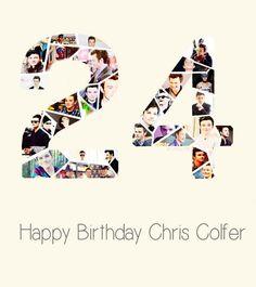 Happy birthday Chris Colfer