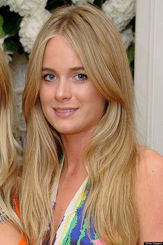 Cressida Bonas ,girlfriend of Prince Harry .