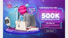 Mã giảm 500K cho đơn hàng thời trang từ 1.500K Poster Design Layout, Poster Design Inspiration, Ad Design, Flyer Design, Exhibition Booth Design, Exhibition Stands, Exhibit Design, Social Media Icons, Social Media Design