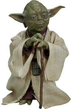 "SIDESHOW STAR WARS The Empire Strikes Back Yoda 12/"" 1//6 action figure Neuf"