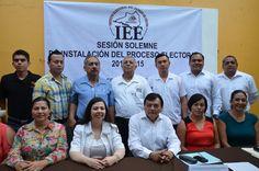 Instalación del CME de Armeria para el Proceso Electoral 2014-2015