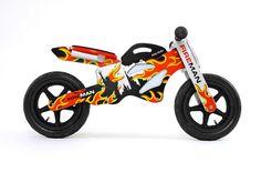 Bici de madera sin pedales Milly Mally GTX fireman [GTX FIREMAN] | 69,00€ : La tienda online para tu peke | tienda bebe pekebuba.com